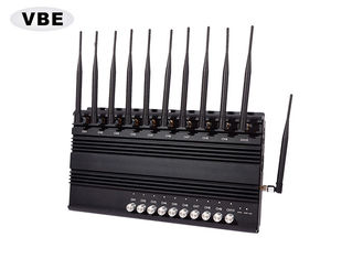 Black Shell Wifi Signal Jammer 33dBm Average Output Power Signal Synchronization System