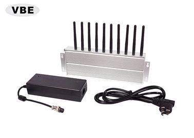 10 Bands Cell Phone Signal Jammer 360 Degree Jamming For Examination Room